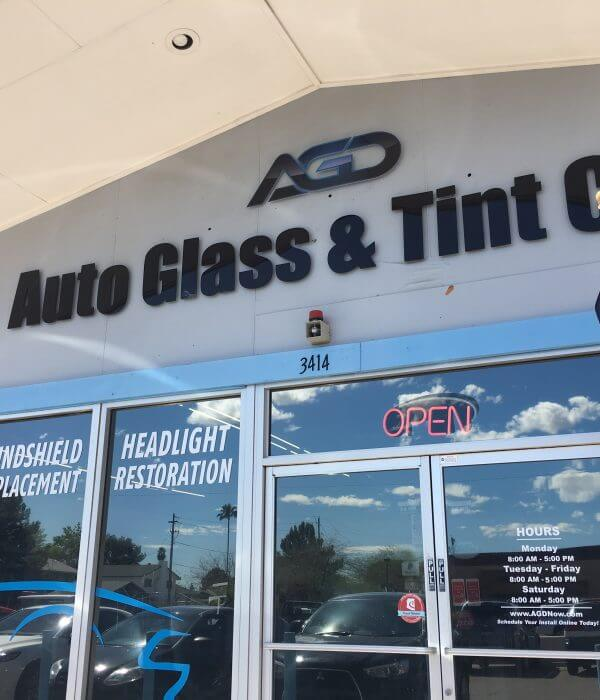 AGD Auto Glass And Tint Co Shop Phoenix